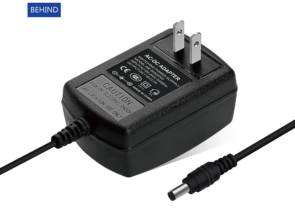 18v 2a 36w switching power supply ac dc adapter us plug