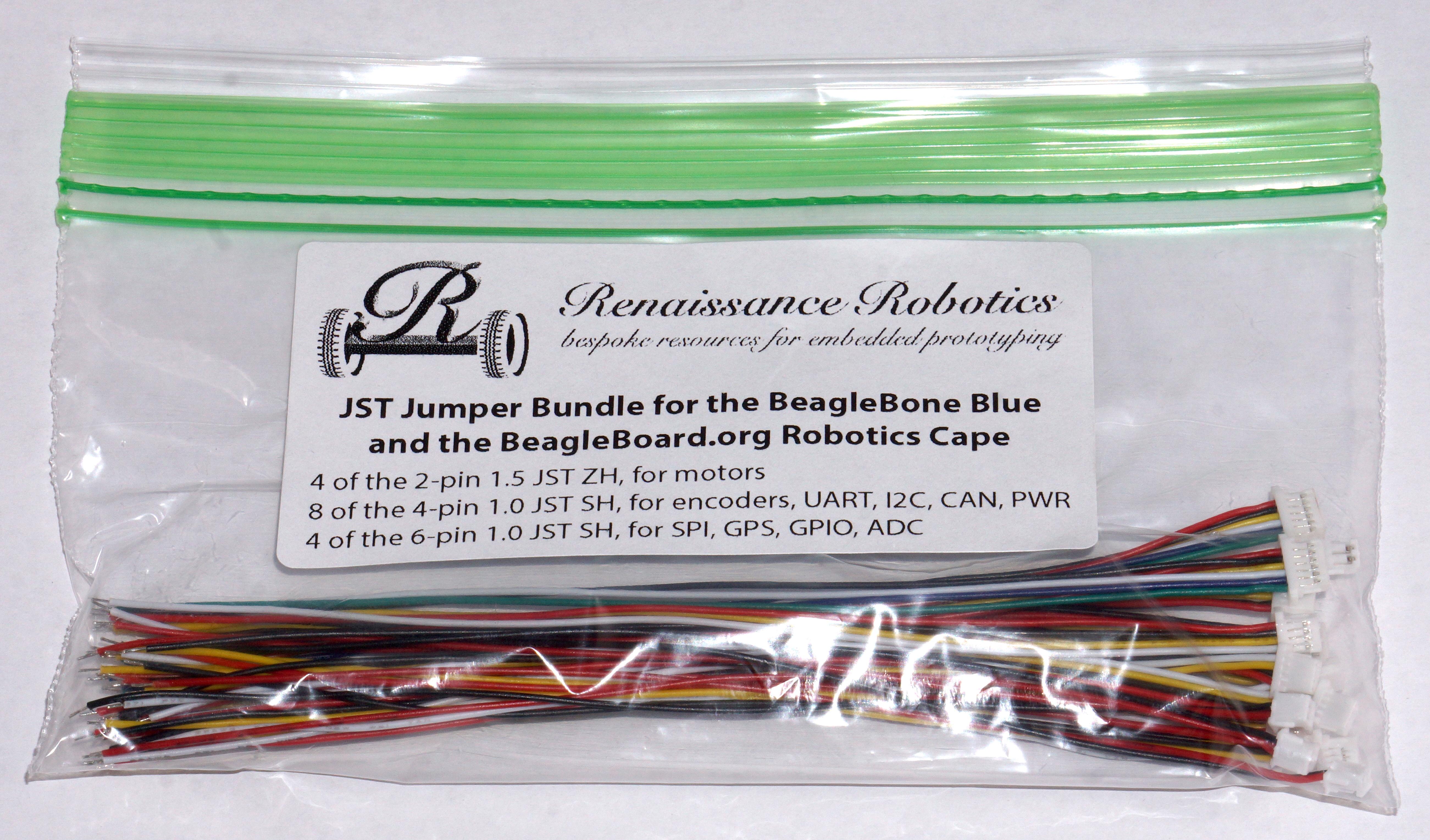 Jst Jumper Bundle For The Beaglebone Blue And Beagleboard Org